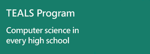 Logo: TEALS Program – Computer Science in every high school
