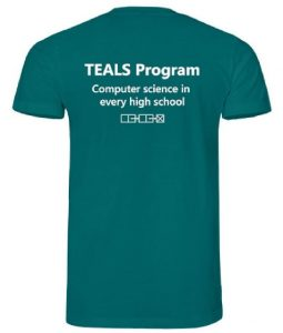 TEALS T-shirt back